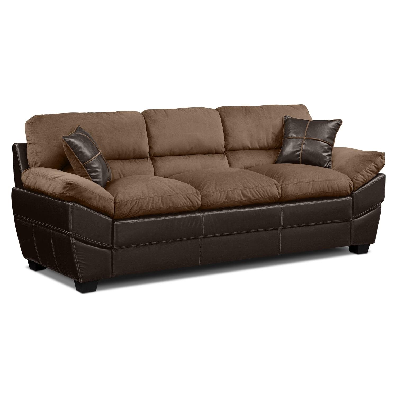 Living Room Furniture - Chandler Beige Sofa