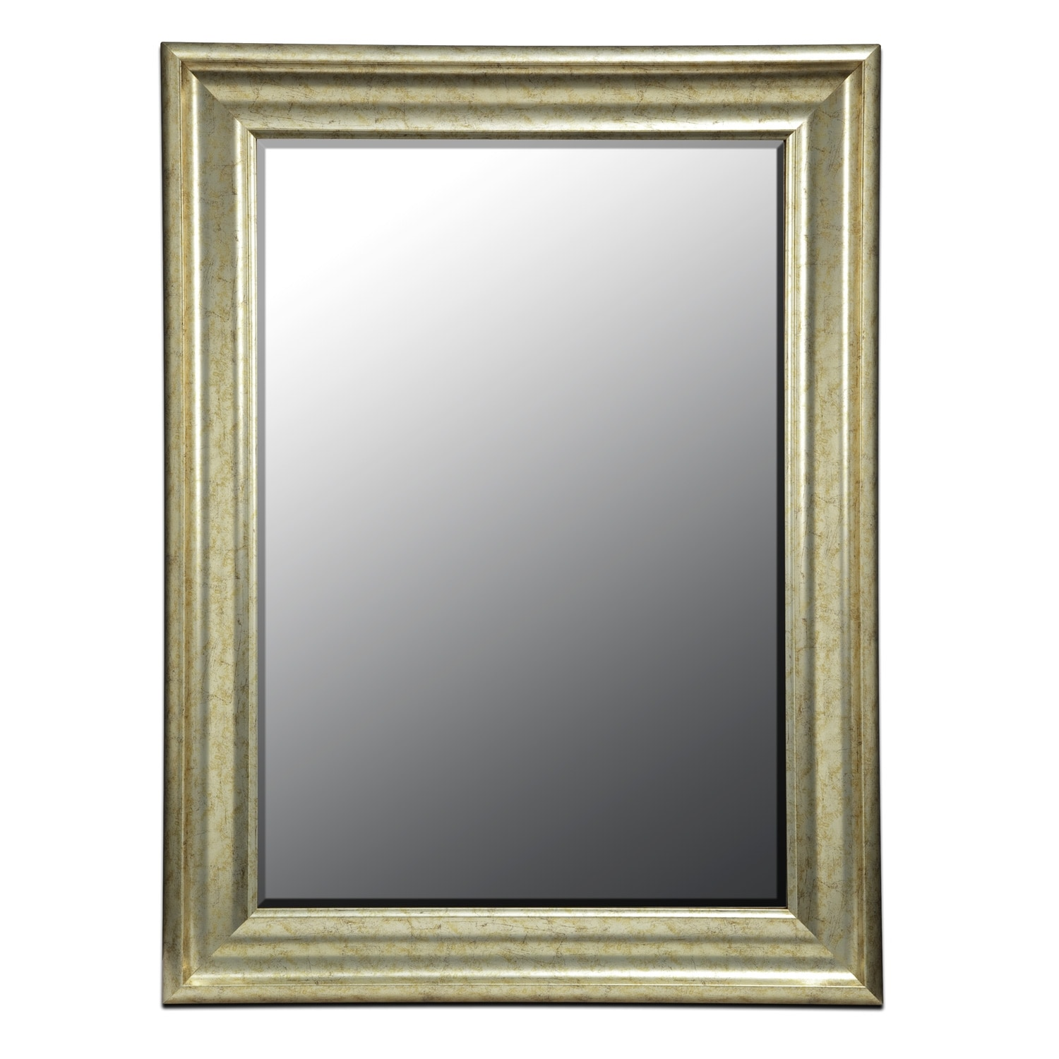 Accent and Occasional Furniture - Vivien Mirror - Antique Silver