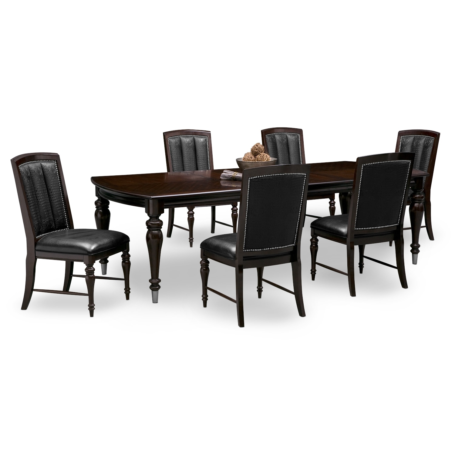 esquire table and 6 chairs cherry