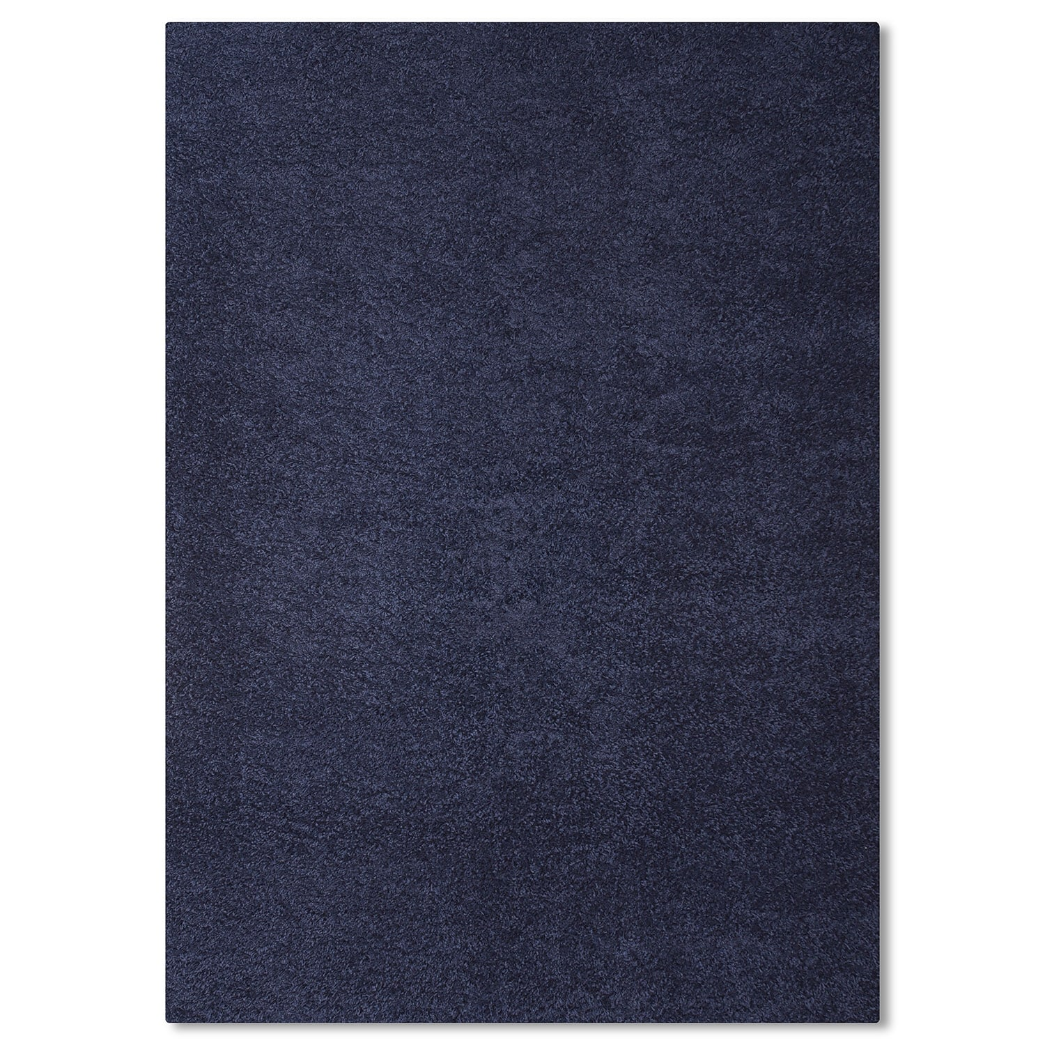 Rugs - Domino Blue Shag Area Rug (5' x 8')