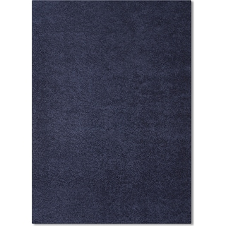 Domino Blue Shag Area Rug (5' x 8')