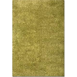 Comfort Shag 5' x 8' Area Rug - Green
