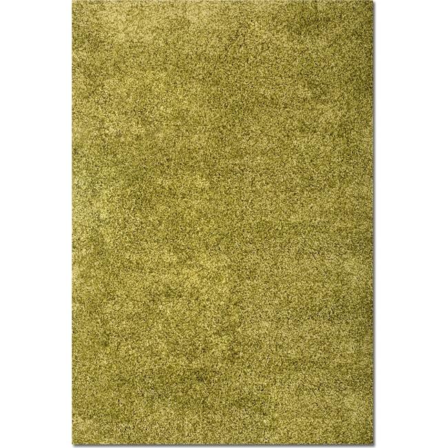 Rugs - Comfort Shag 5' x 8' Area Rug - Green