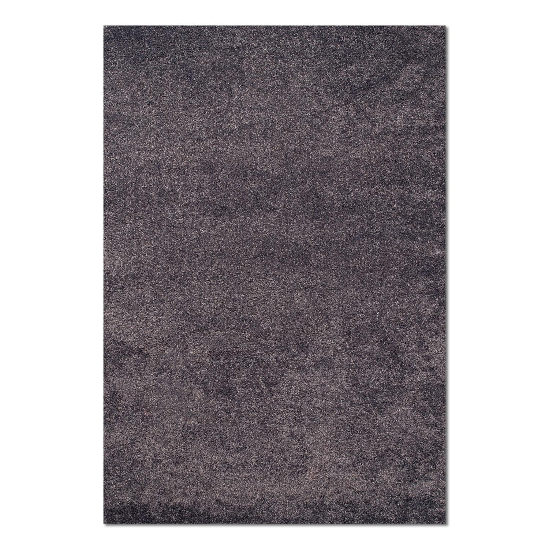 Rugs - Comfort Slate Blue Shag Area Rug (8' x 10')
