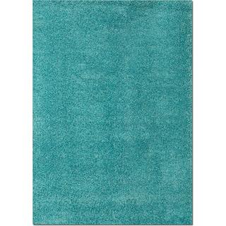 Domino Shag Area Rug - Turquoise