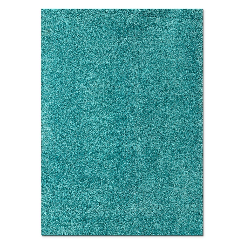 Domino Shag 5u0027 X 8u0027 Area Rug   Turquoise