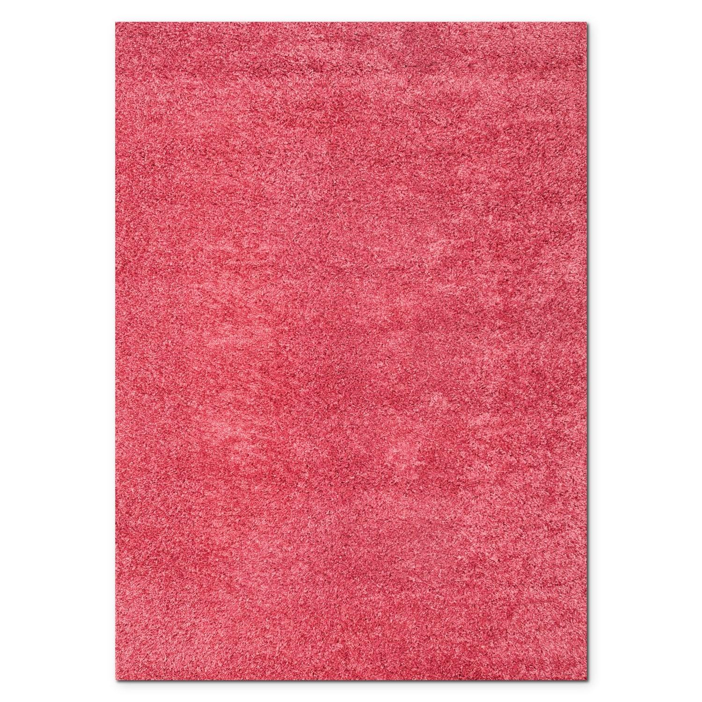Rugs - Domino Shag Area Rug - Pink