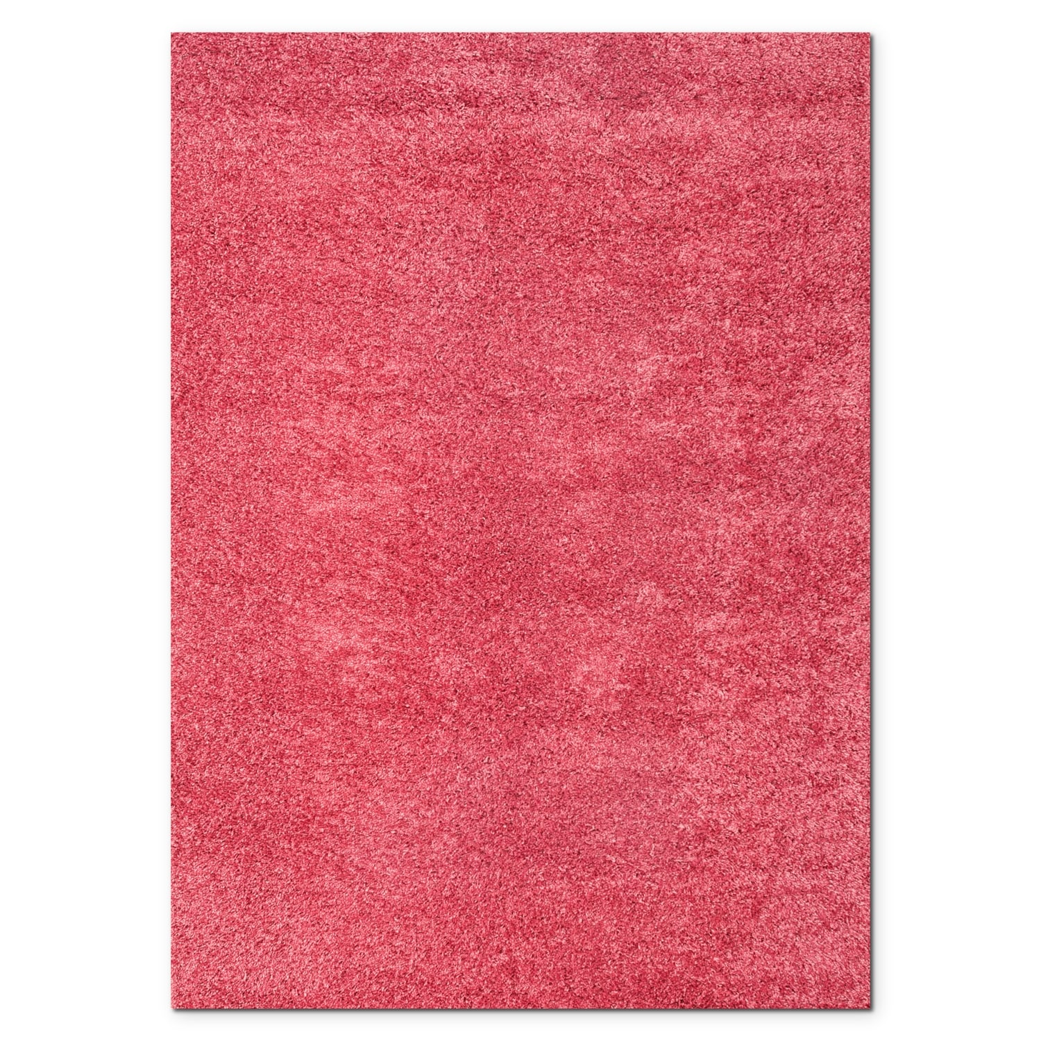 Rugs - Domino Pink Shag Area Rug (8' x 10')