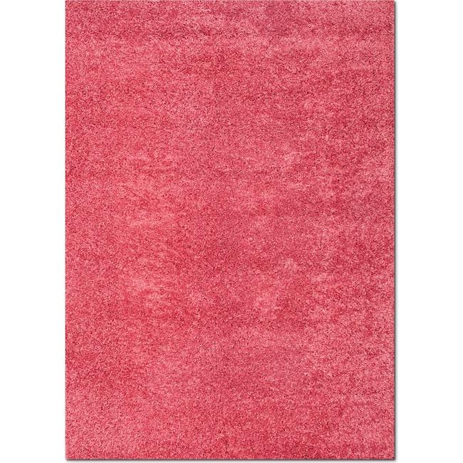 Rugs - Domino Shag 5' x 8' Area Rug - Pink