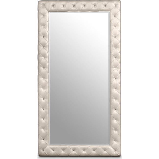 Bedroom Furniture - Marilyn Floor Mirror - Ivory