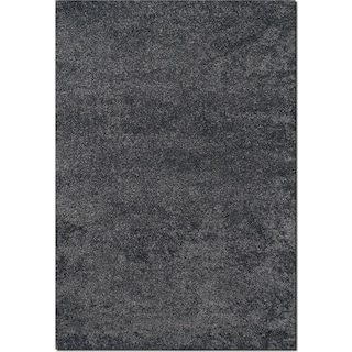 Comfort Shag Area Rug - Charcoal