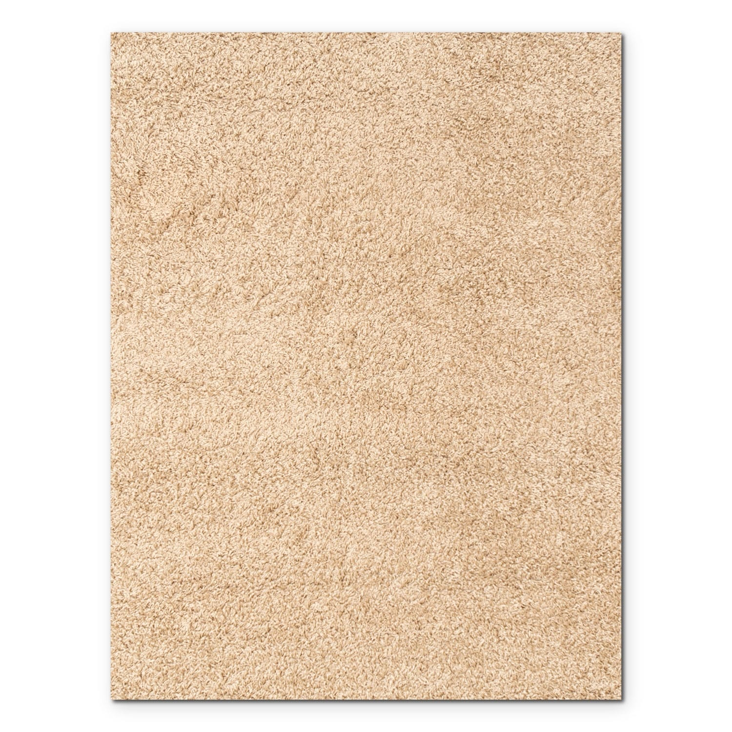 Rugs - Domino Taupe Shag Area Rug (5' x 8')