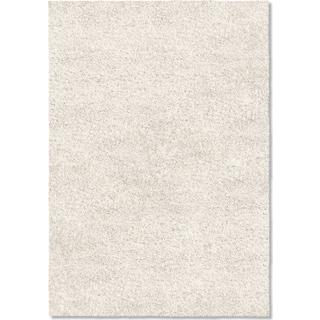 Comfort Shag 5' x 8' Area Rug - White
