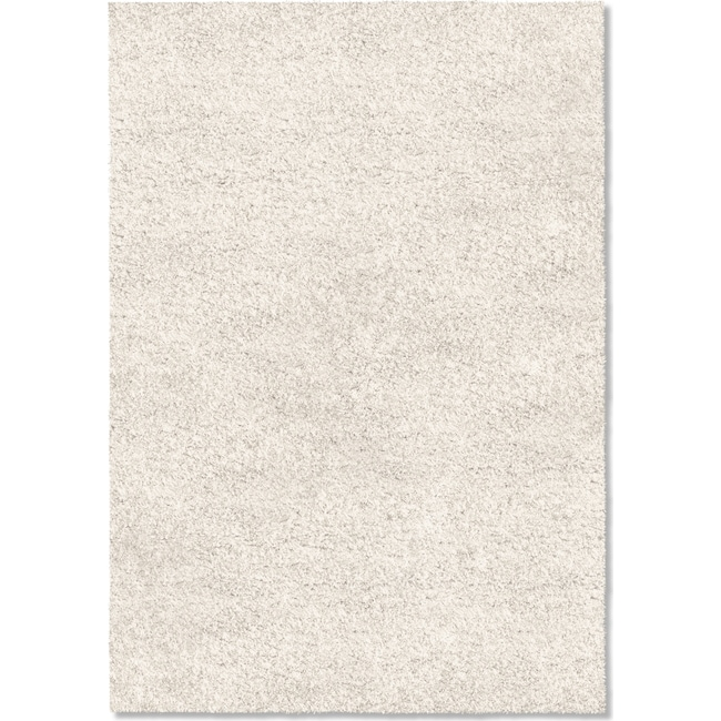 Rugs - Comfort Shag 8' x 10' Area Rug - White