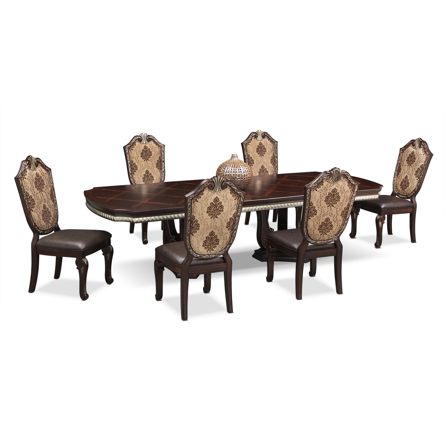 [Monte Cristo 7 Pc. Dining Room]