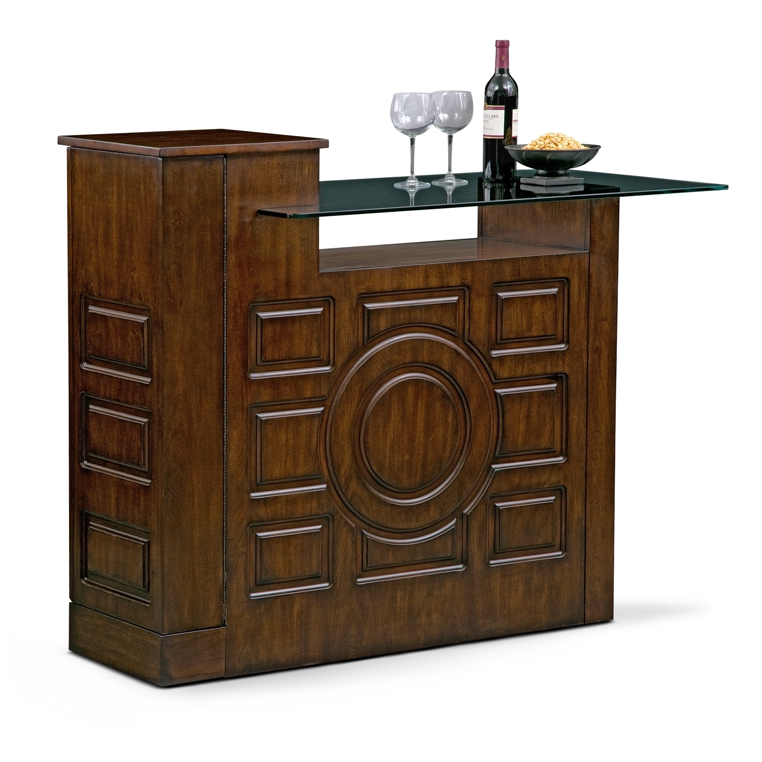 Accent and Occasional Furniture - Origins Island Bar
