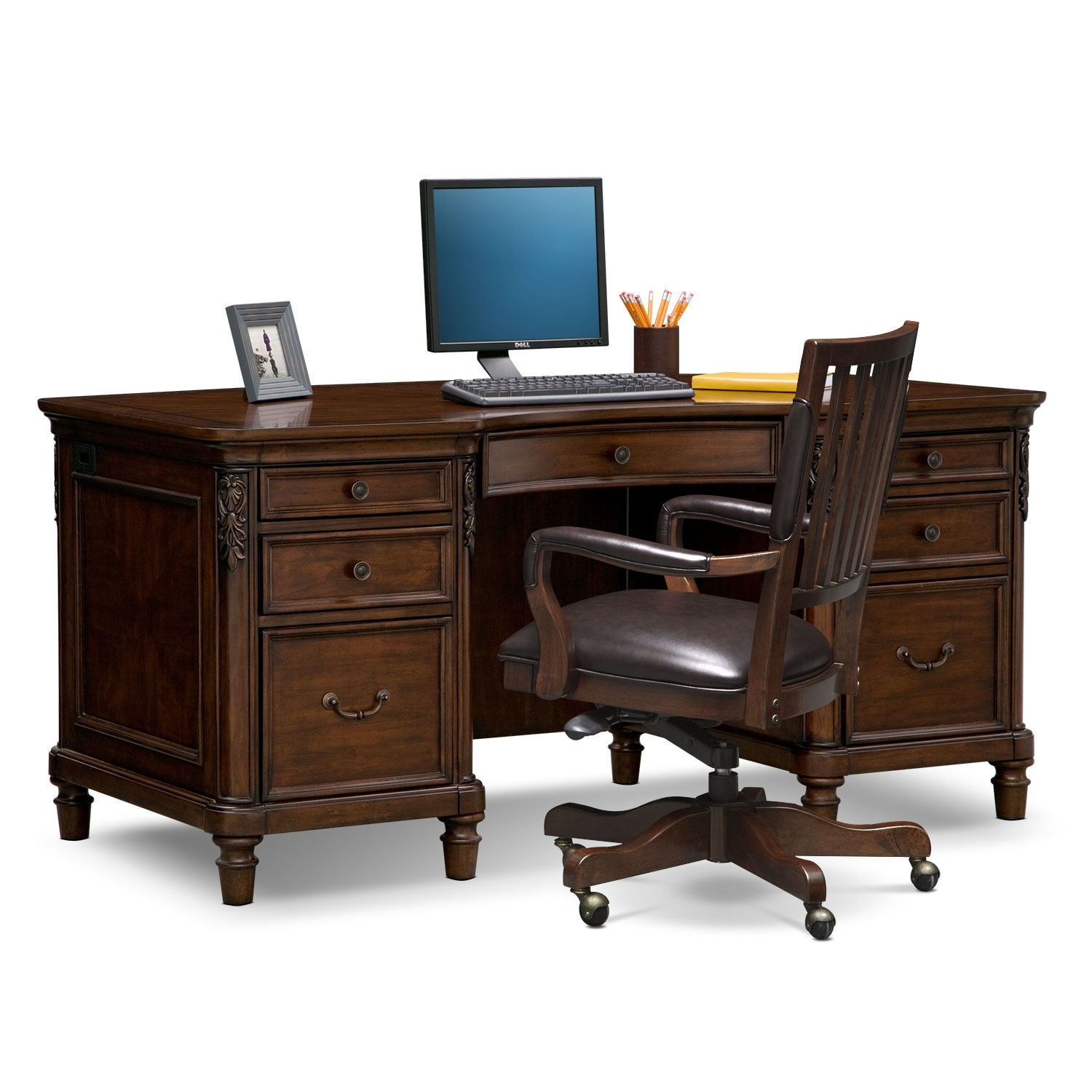 Home Office Furniture - Ashland 2 Pc. Home Office