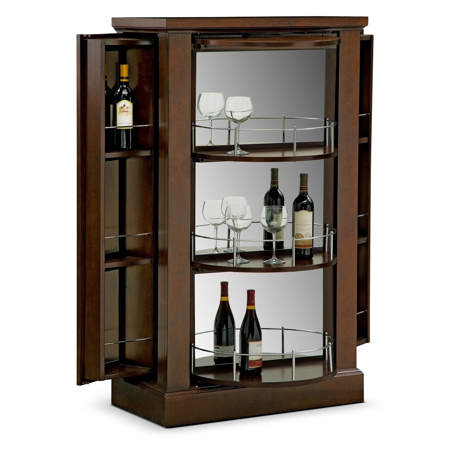 Accent and Occasional Furniture - Origins Armoire Bar