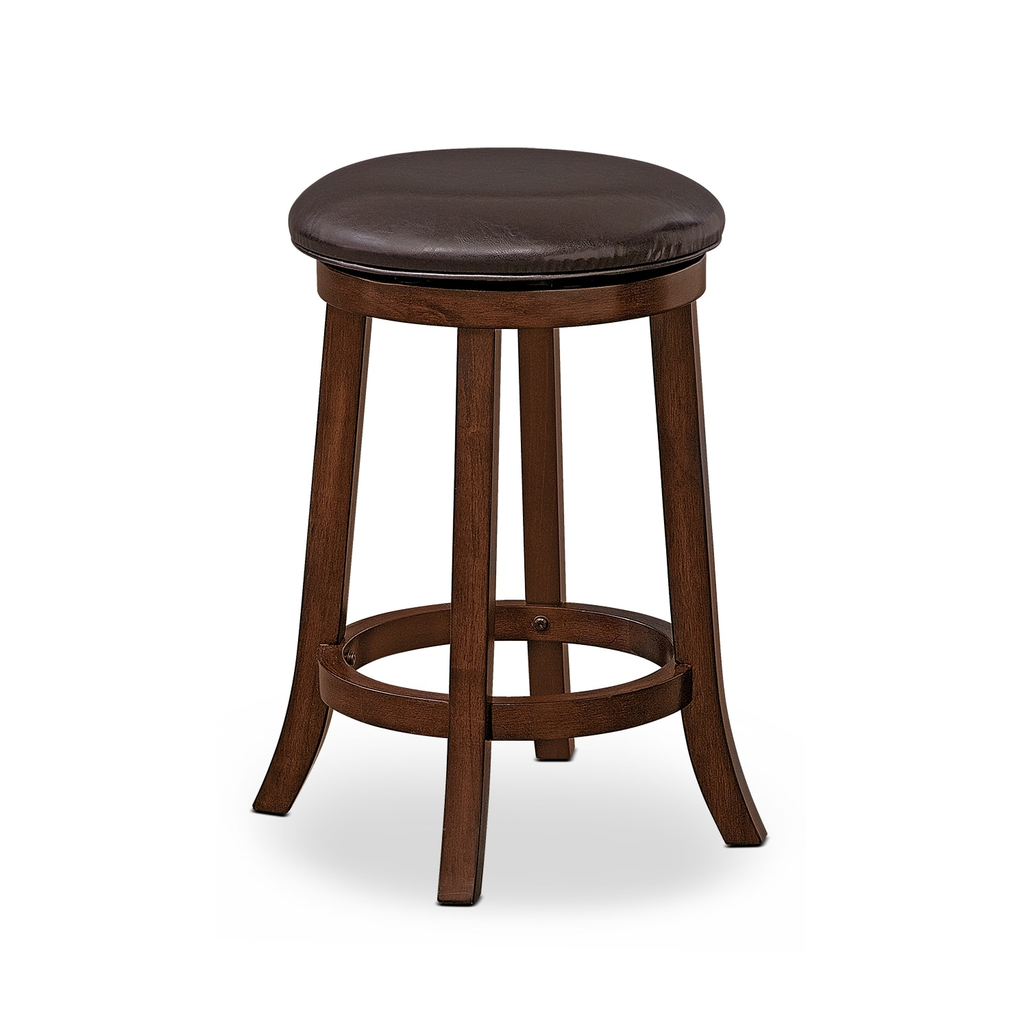 Dining Room Furniture - Tinker Counter-Height Stool - Burnished Cherry