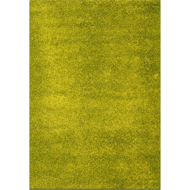 Rugs - Domino Shag 8' x 10' Area Rug - Green