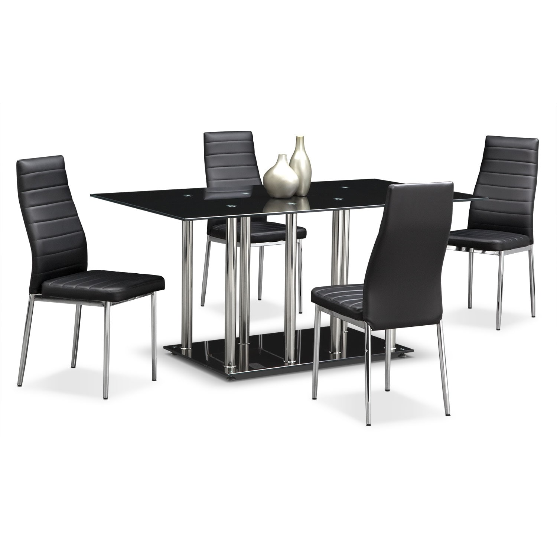 Dining Room Furniture - Stratus 5 Pc. Dinette