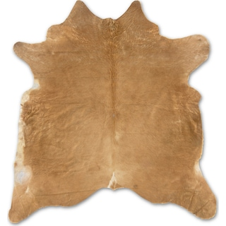 Cowhide 5' x 7' Area Rug - Medium Brindle