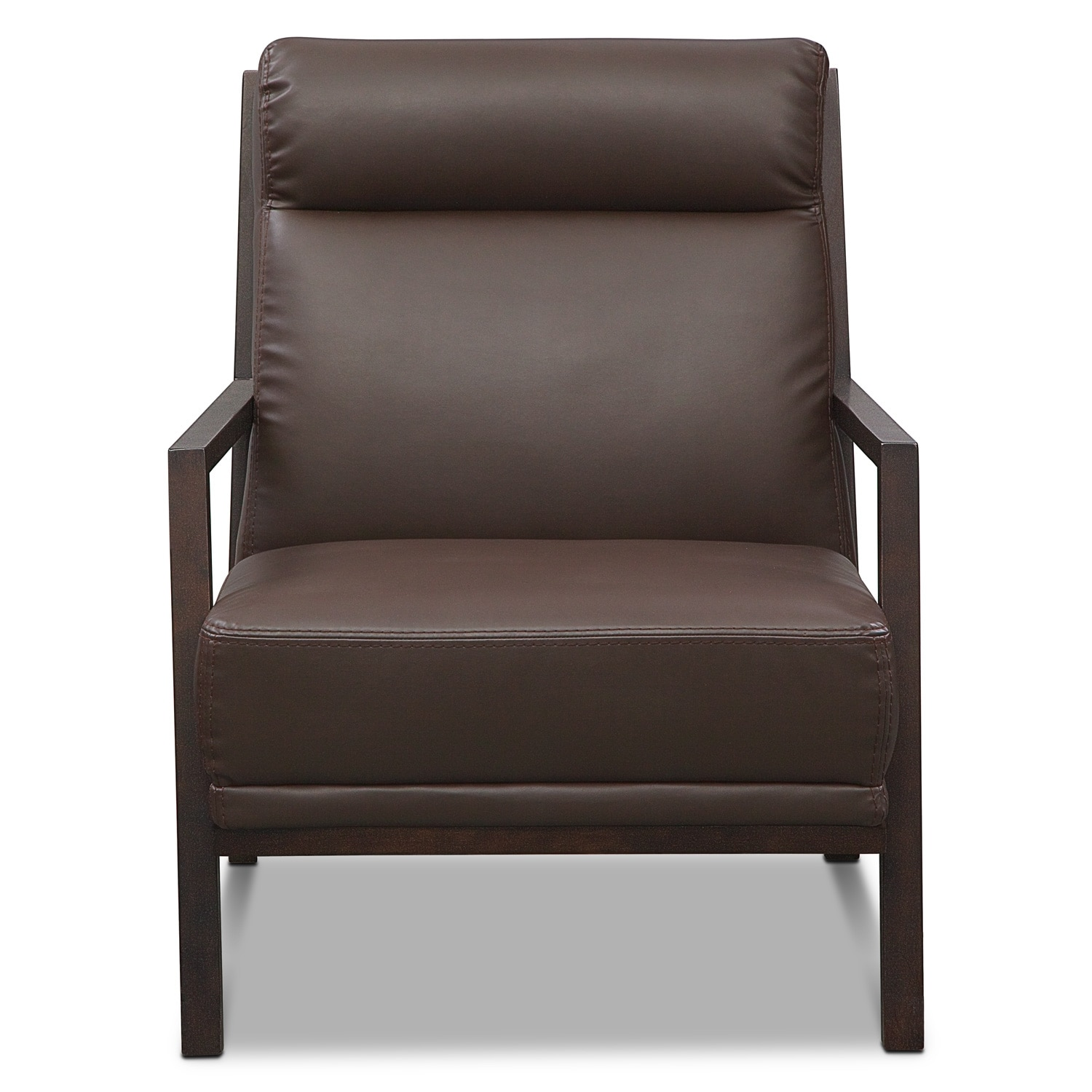 Bowery Accent Chair Brown