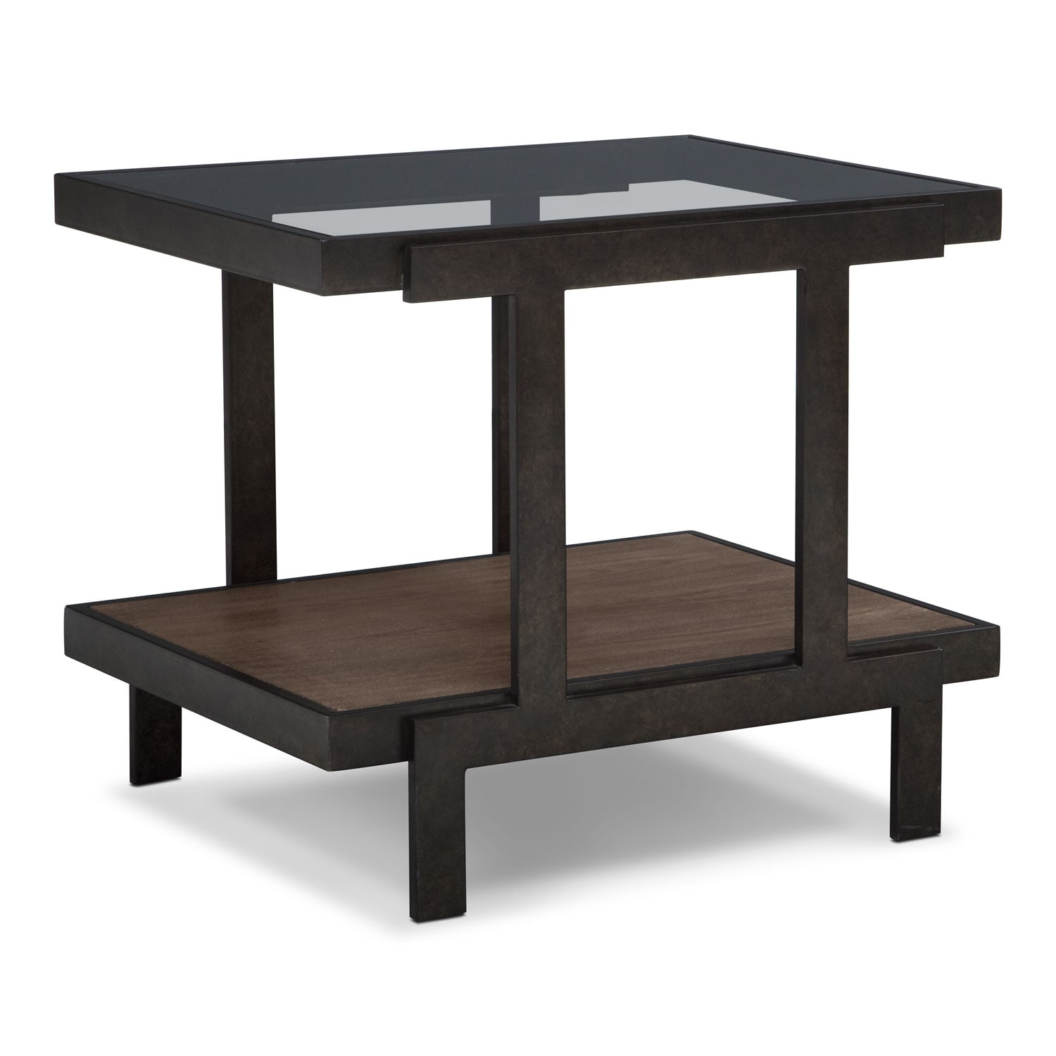 Beasley End Table - Espresso
