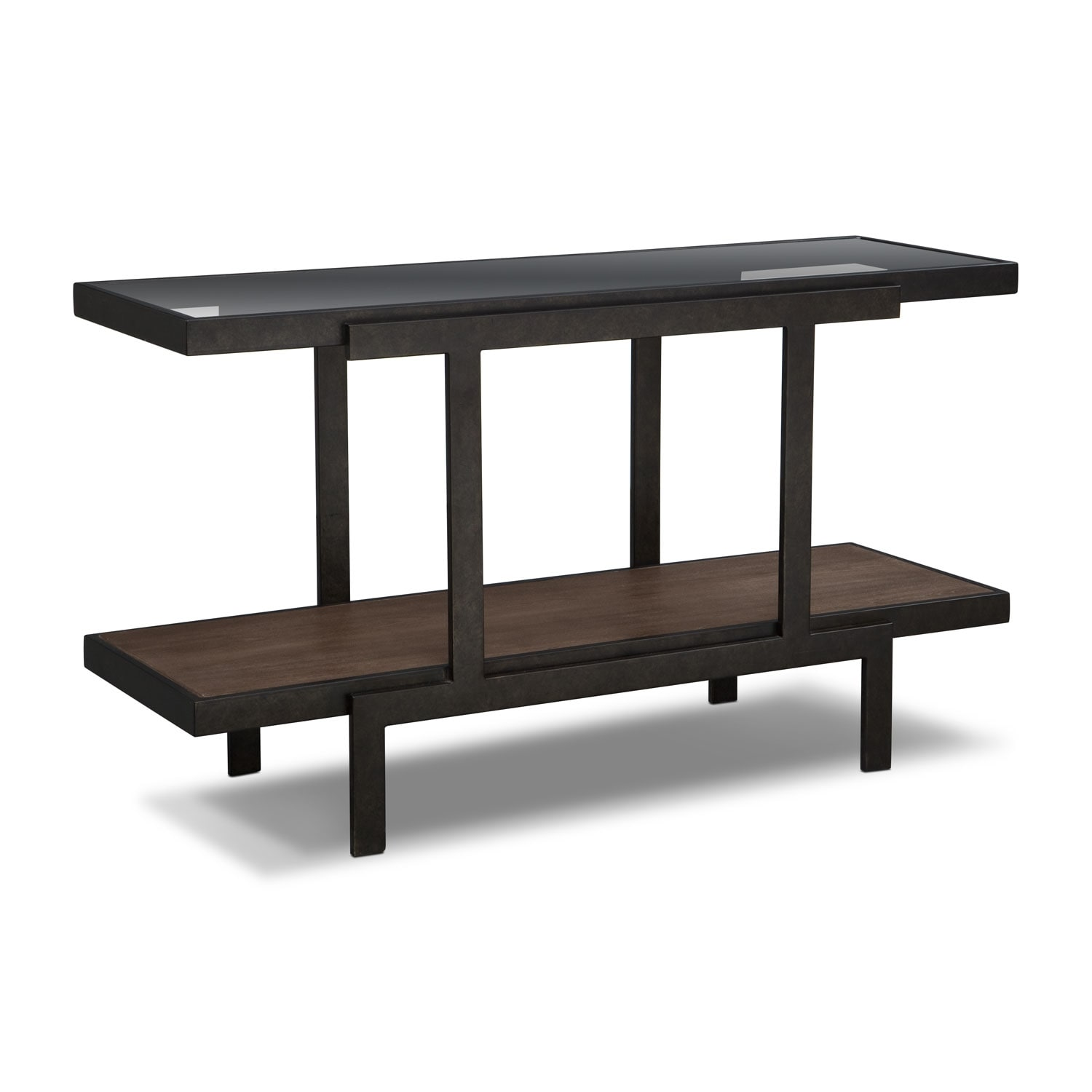 Accent and Occasional Furniture - Beasley Sofa Table - Espresso