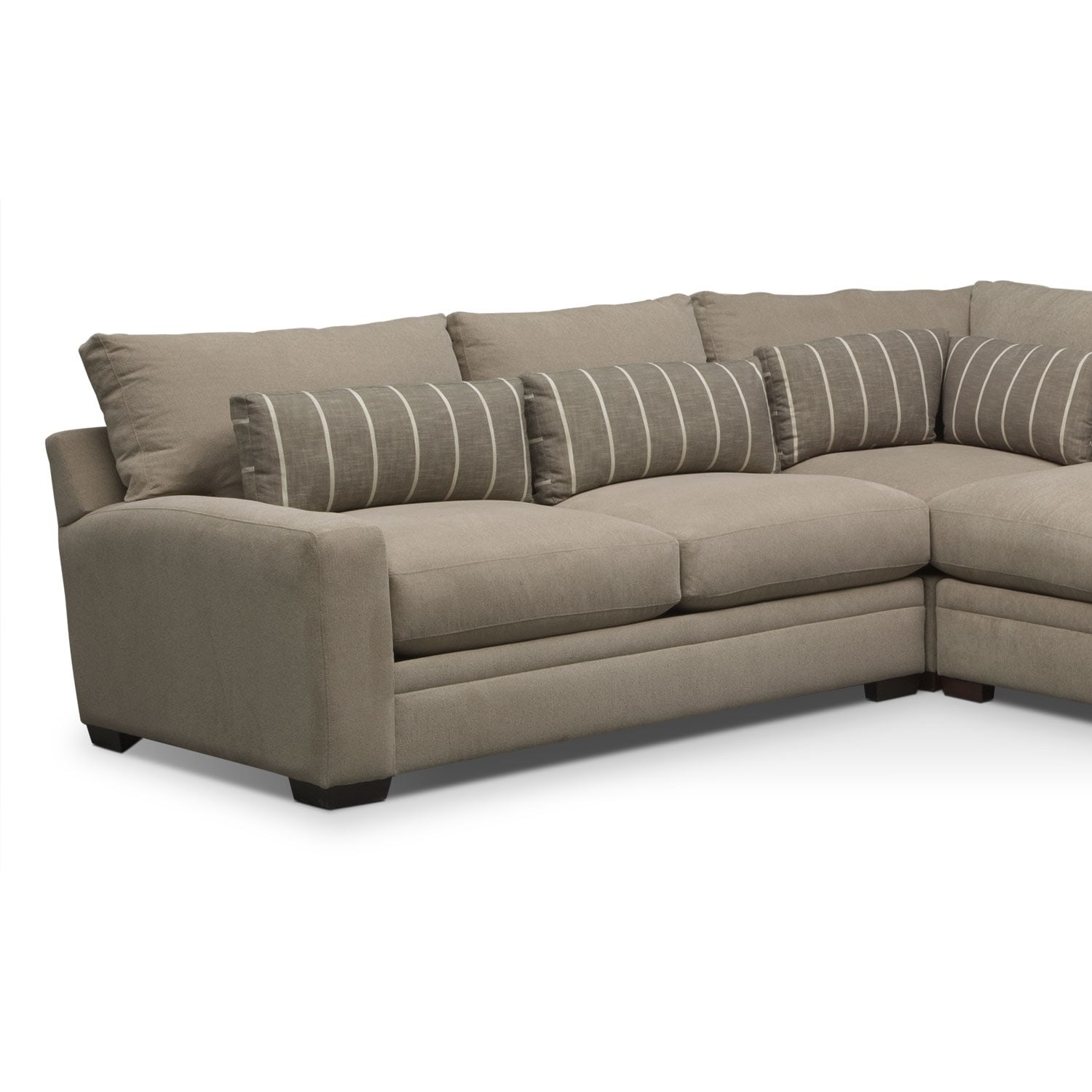 Ventura 3 Piece Sectional Buff