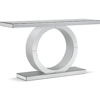 Olympia Sofa Table - Mirror