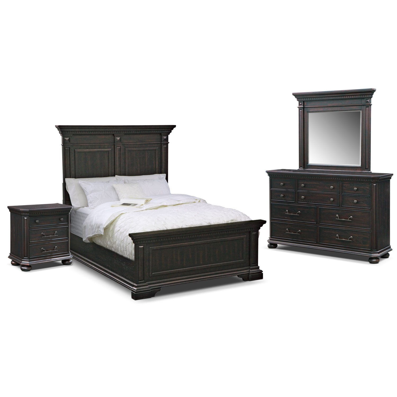 Bedroom Furniture - Alexander 6 Pc. King Bedroom