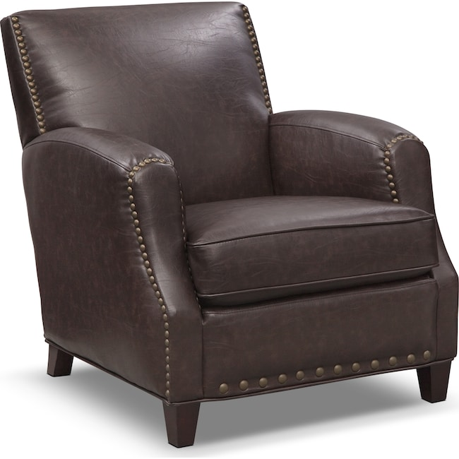 Accent and Occasional Furniture - Havana Accent Chair - Walnut