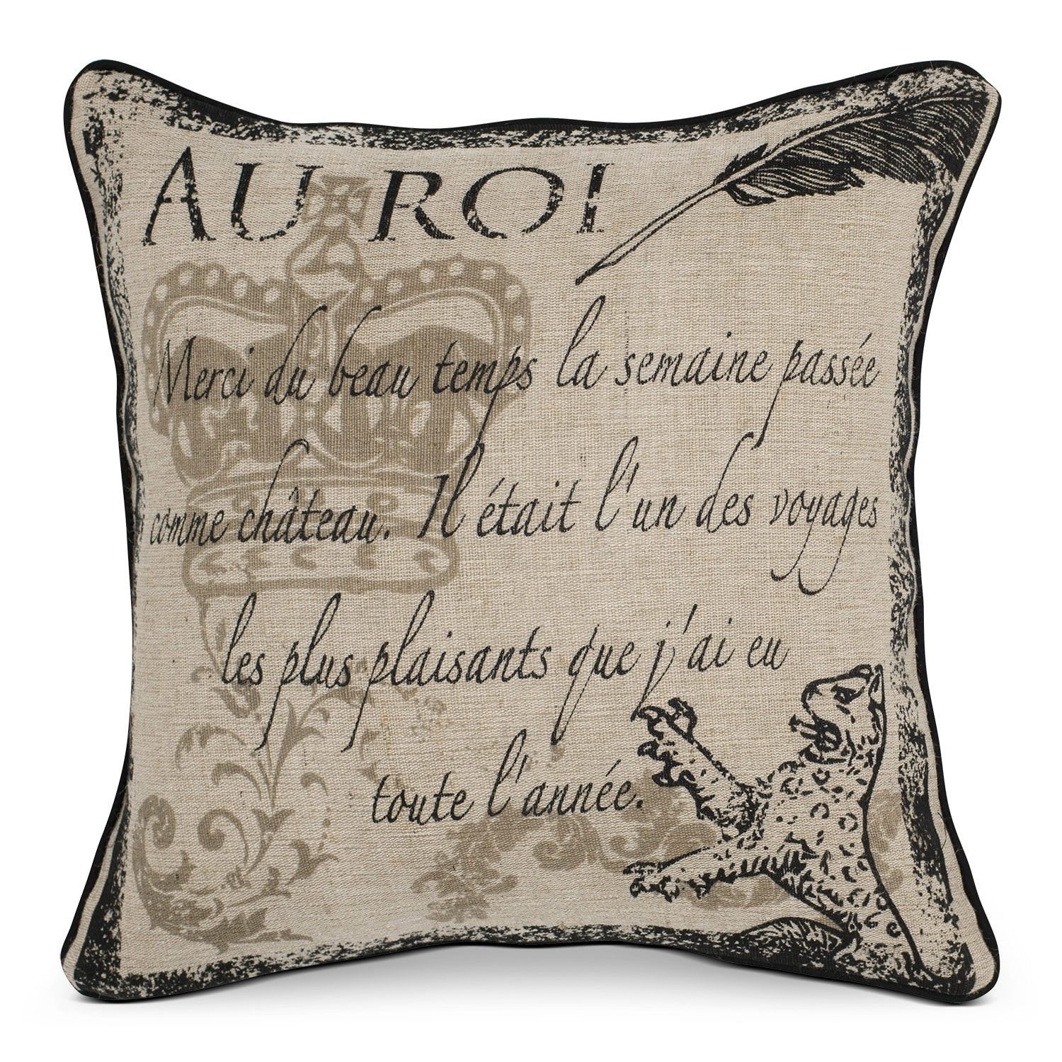 Accent and Occasional Furniture - Eden Decorative Pillow