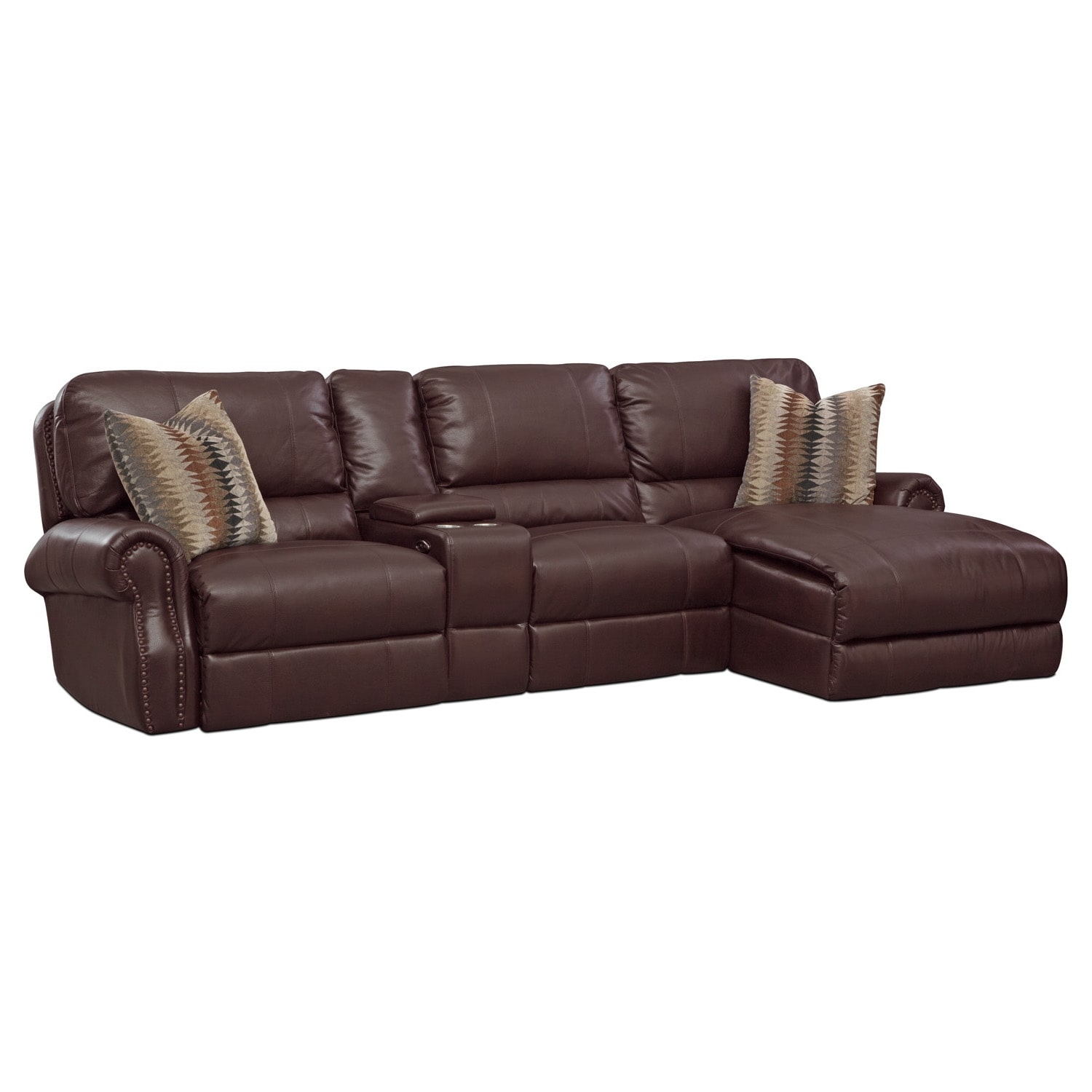 Living Room Furniture - Princeton 2 Pc. Power Sectional