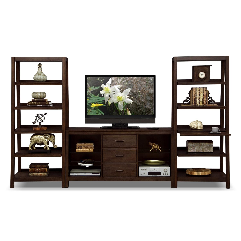 Entertainment Furniture - Camryn 3 Pc. Entertainment Wall Unit