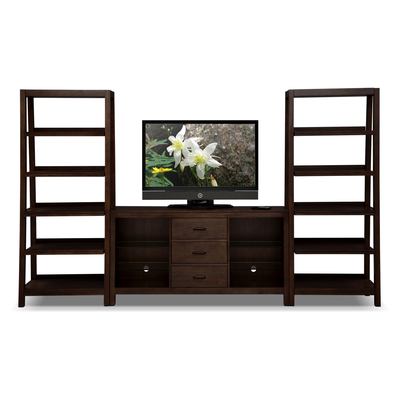 Camryn Entertainment Furniture 3 Pc Entertainment Wall