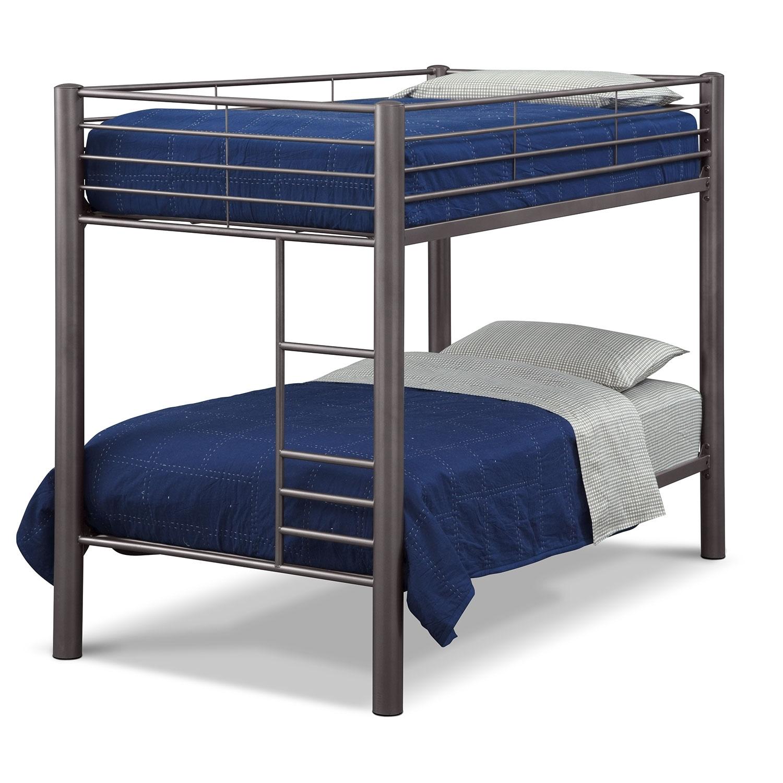 [Combi II Twin Bunk Bed]