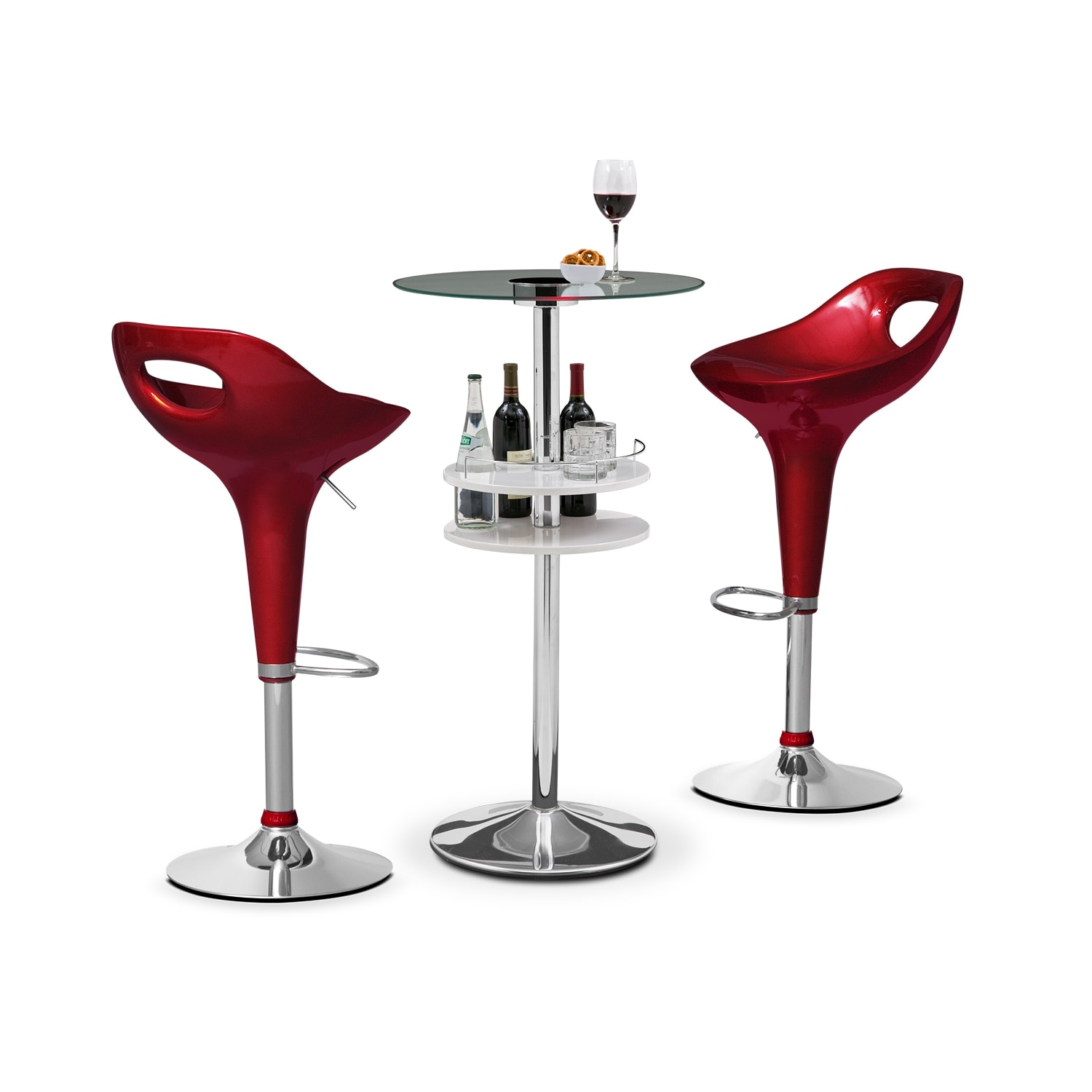 Reno Drake 3 Pc. Bar Set