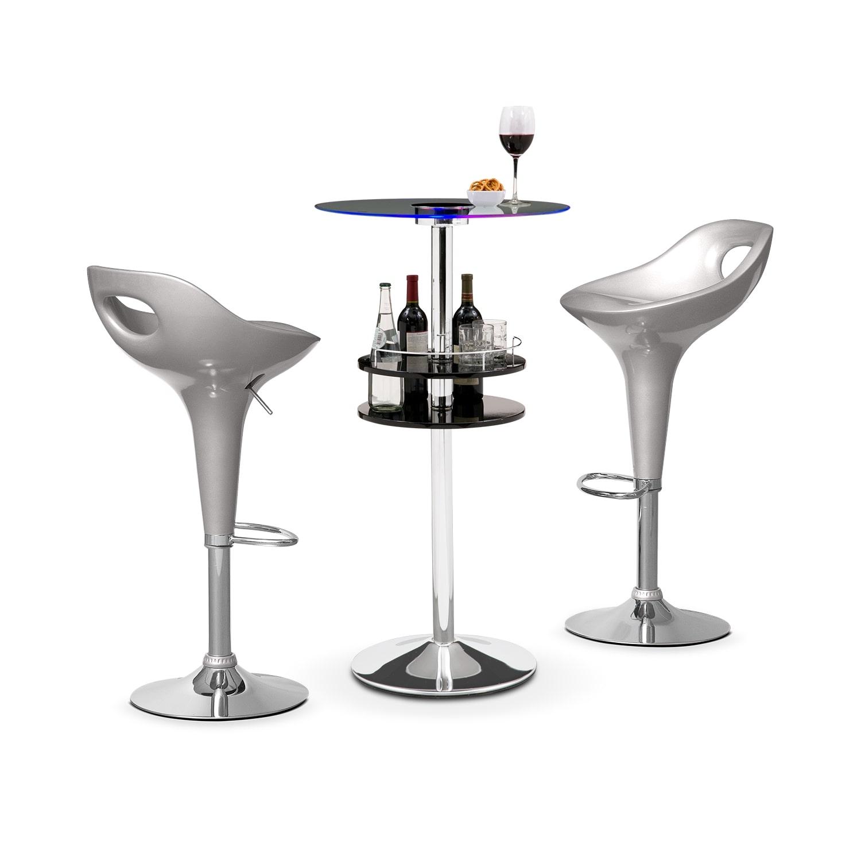 Accent and Occasional Furniture - Reno Drake II 3 Pc. Bar Set