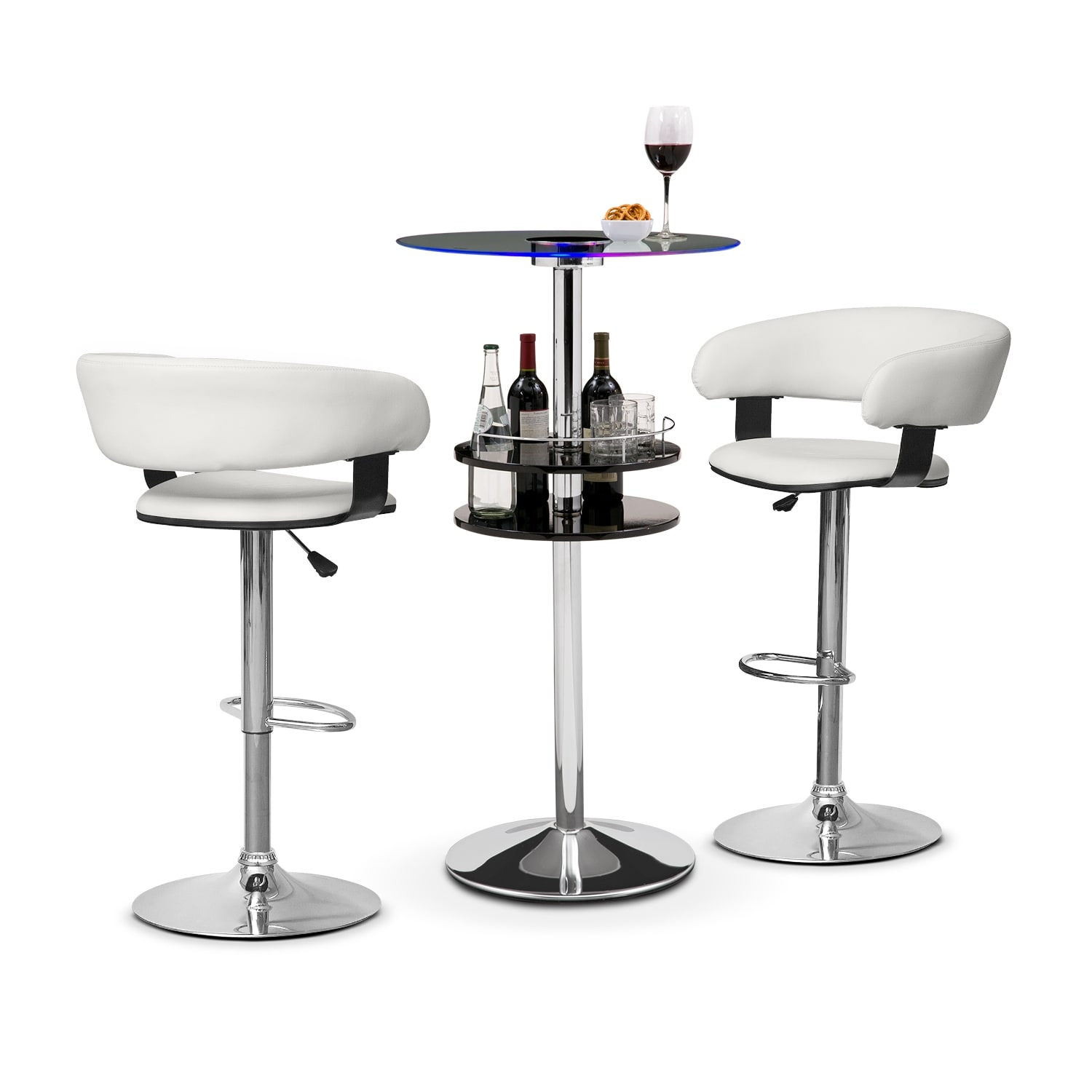 Reno Glasgo II 3 Pc. Bar Set
