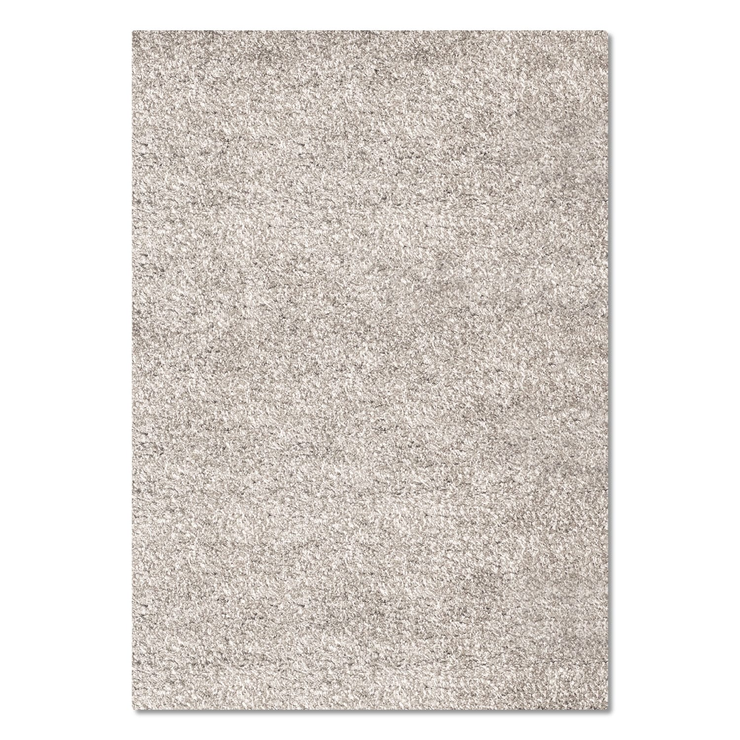 Rugs - Comfort Shag Area Rug - Light Gray