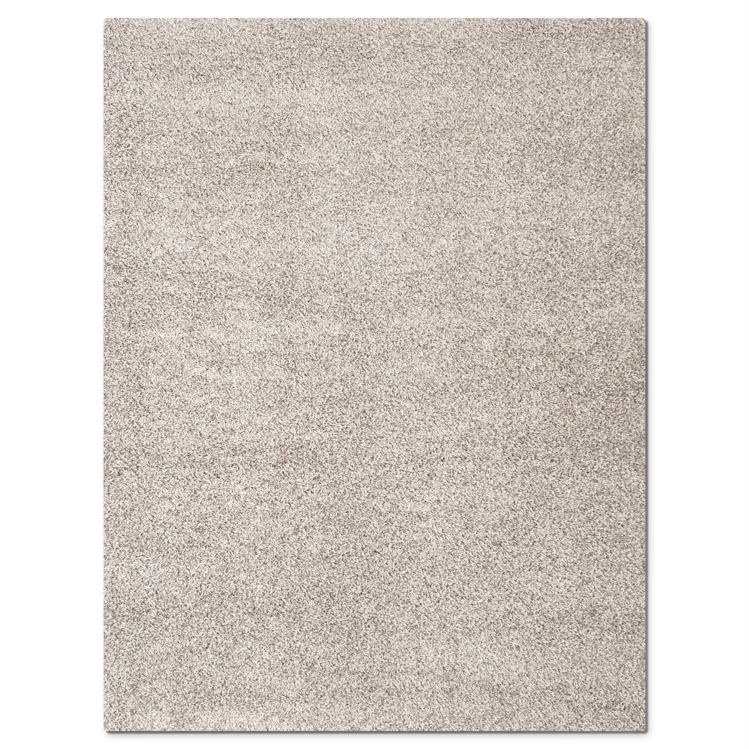 Domino Gray Shag Area Rug (5' x 8')