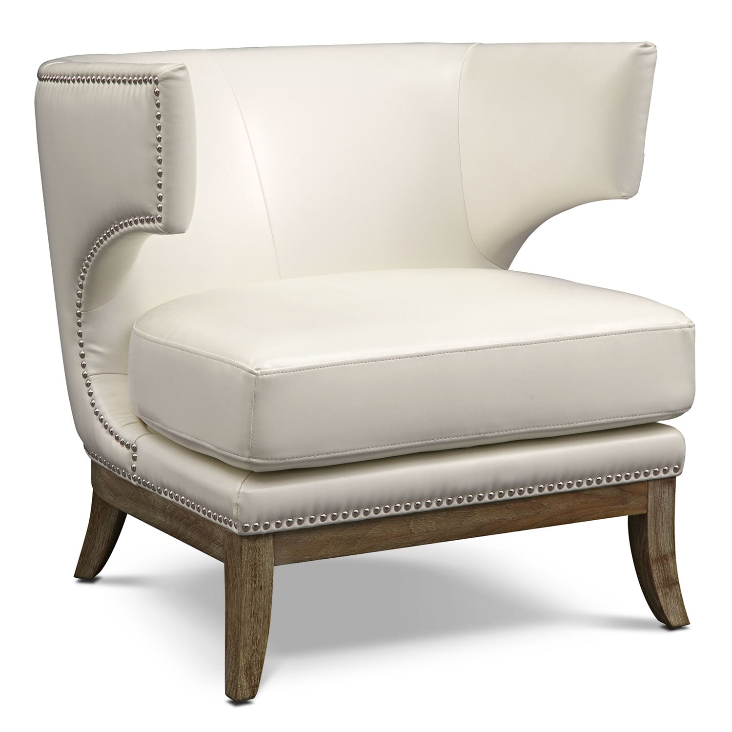 Clarise Accent Chair - Ivory