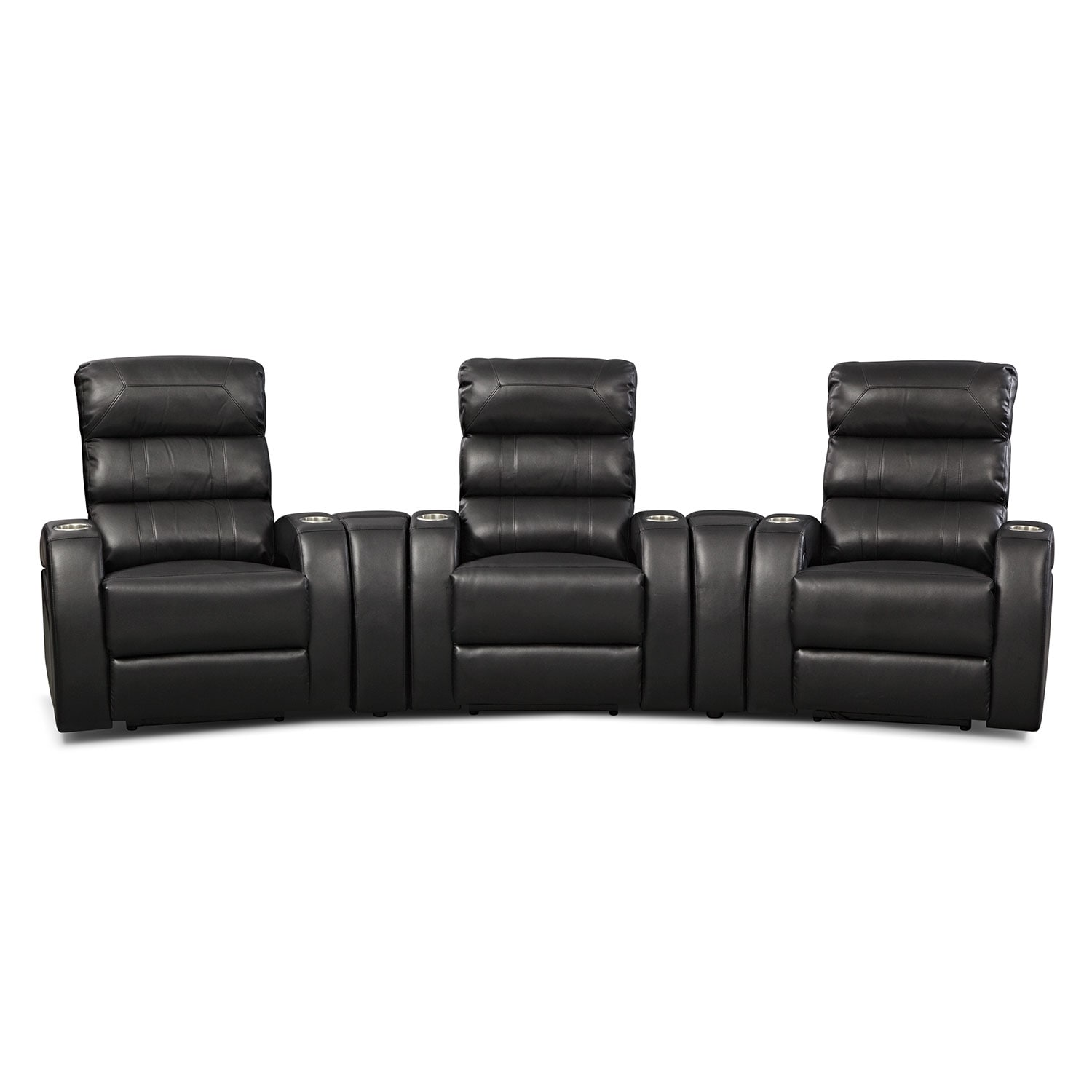 Gemini 5 Pc. Power Home Theater Sectional