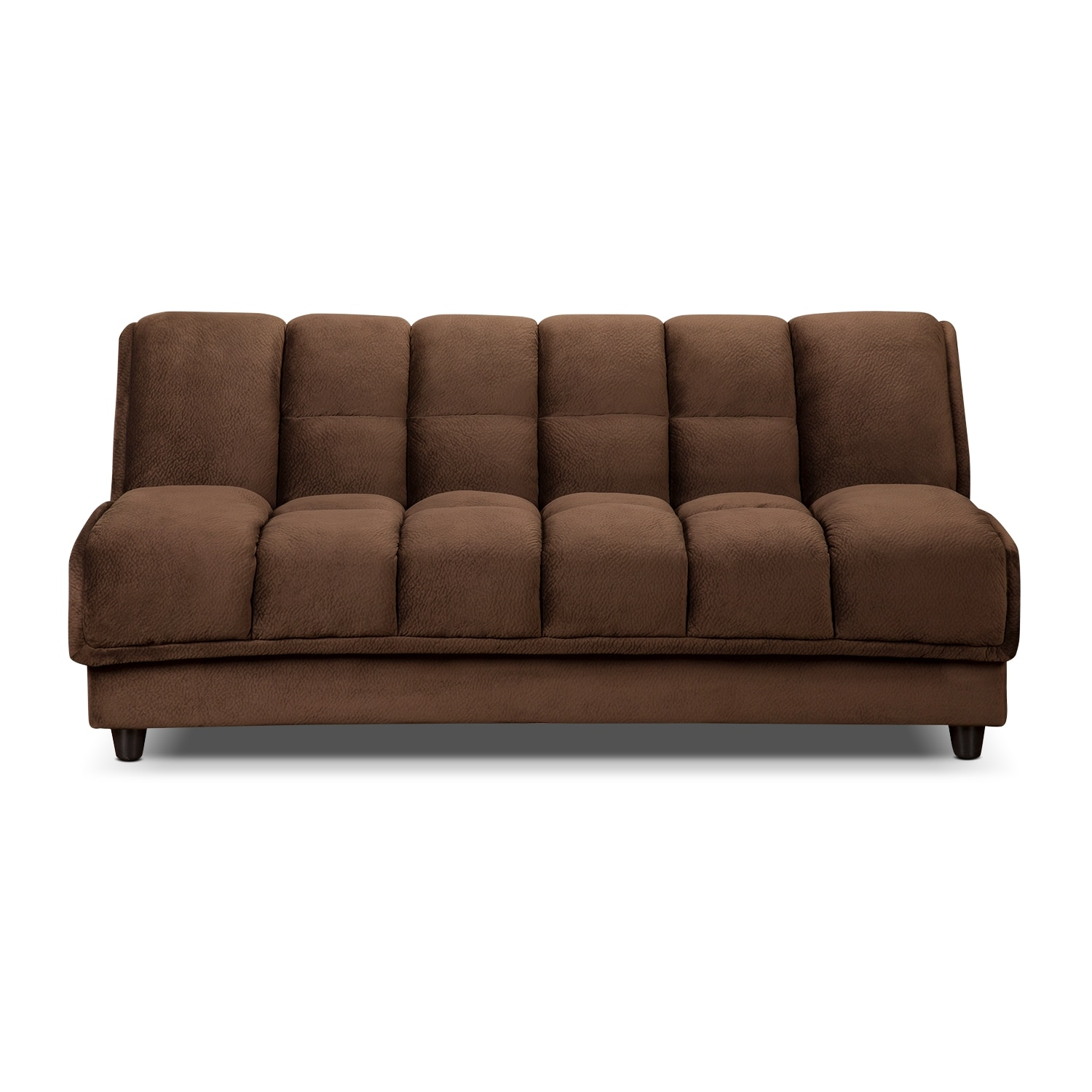 Bennett Futon Sofa Bed Espresso Value City Furniture