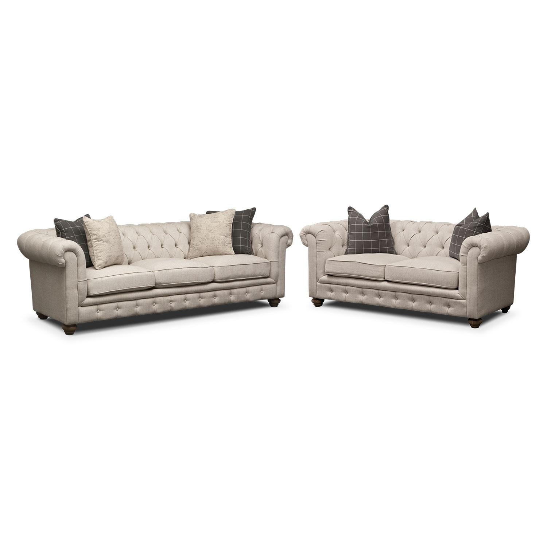 Living Room Furniture - Madeline 2 Pc. Living Room