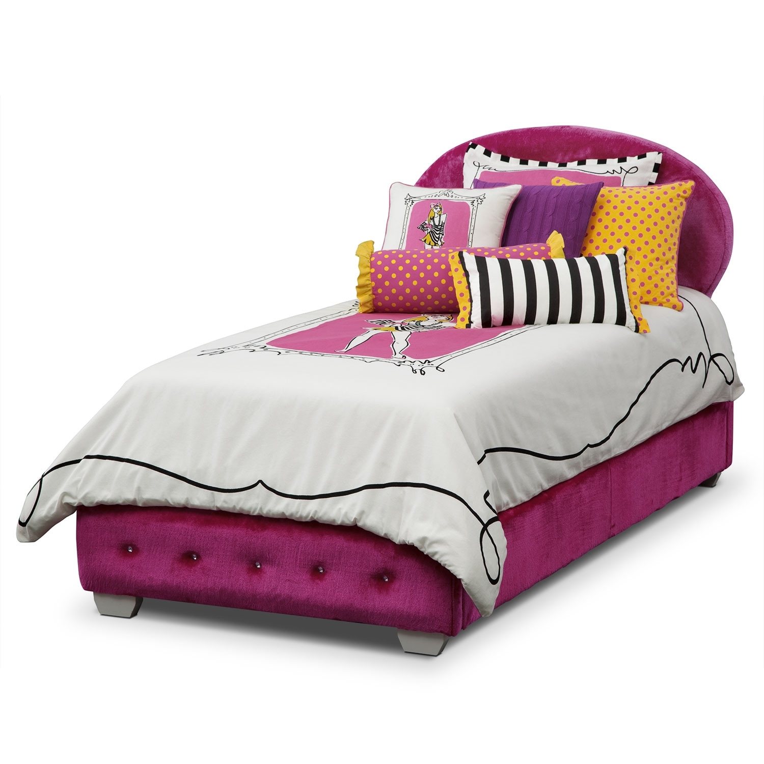 Accent and Occasional Furniture - Mandy Full/Queen Bedding Set