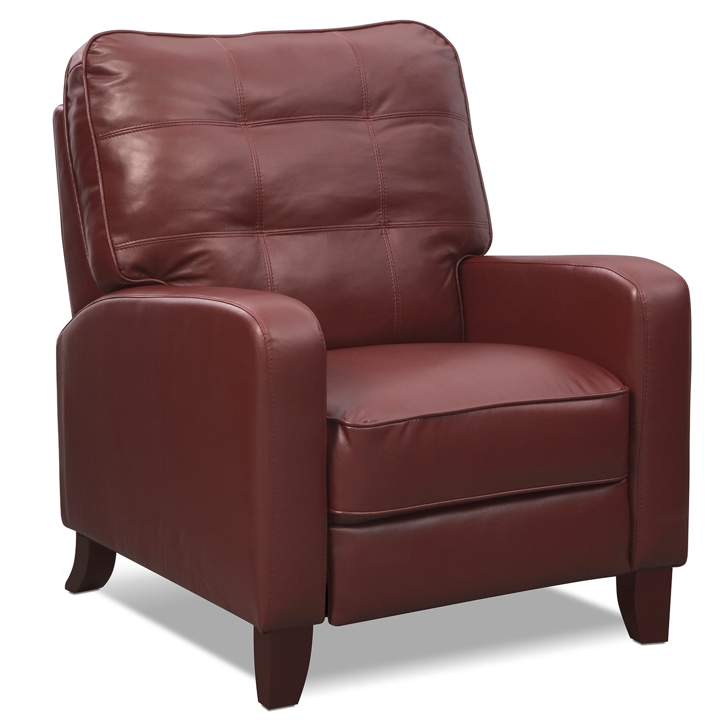 Living Room Furniture - Clinton Push-Back Recliner