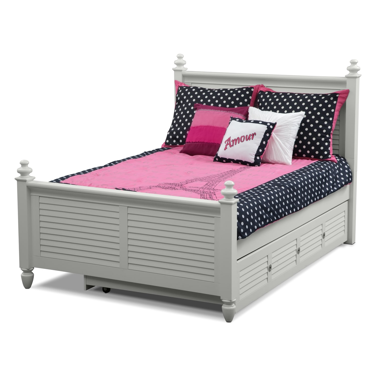 Accent and Occasional Furniture - Love Full/Queen Bedding Set